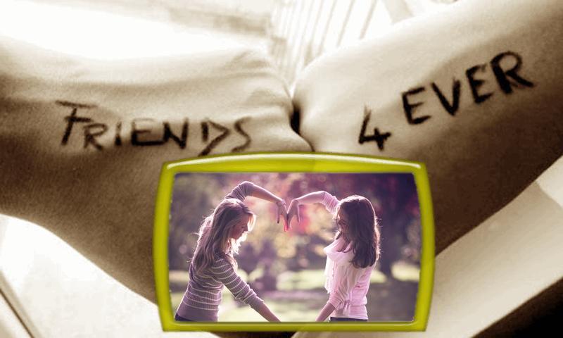 friendship frames photo editor screenshot