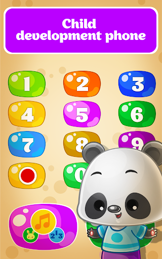 Babyphone for Toddlers - Numbers, Animals, Music 1.4.119 screenshots 1