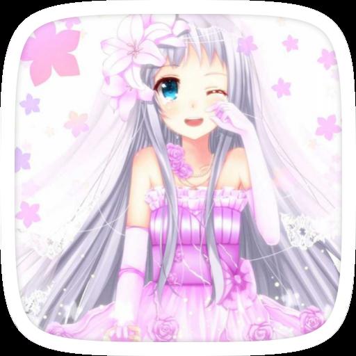 Amine Girl Theme 個人化 App LOGO-APP開箱王