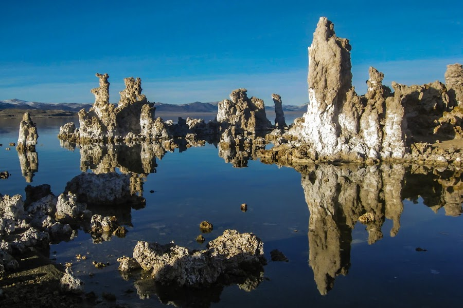 Mono Lake by Tracey Dolan - Landscapes Waterscapes
