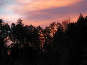 Photo: i nebo je pocrvenilo