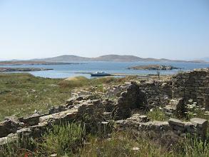 Photo: Delos bay