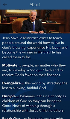 Jerry Savelle Ministries - screenshot