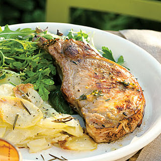 Lemon and Thyme Grilled Pork Chops Recipe