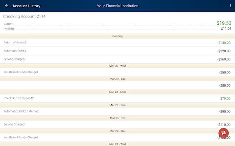 myCCCU Mobile Banking screenshot 9