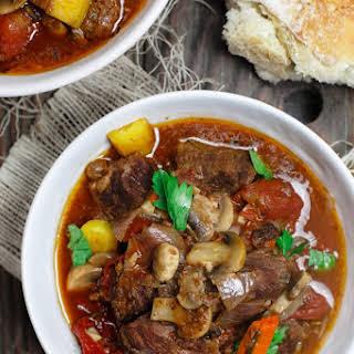Crock Pot Italian Beef Stew.