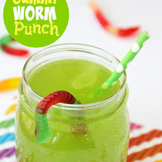 Gummy Worm Punch