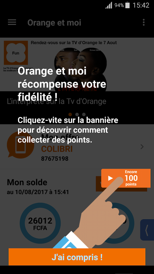 Orange et Moi Côte d'Ivoire- screenshot