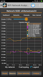WiFi Analyzer Pro screenshot 1