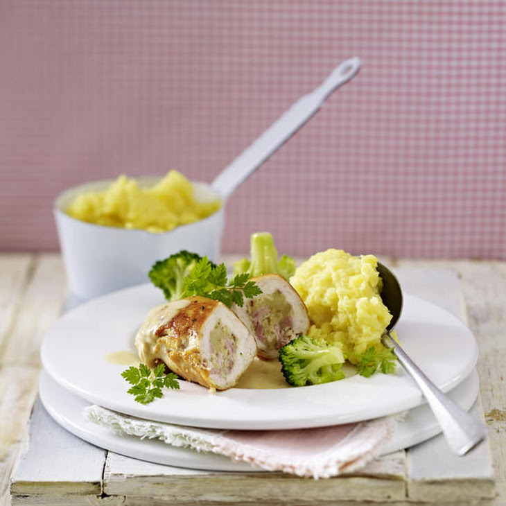 Ham and Cheese Stuffed Chicken Breasts