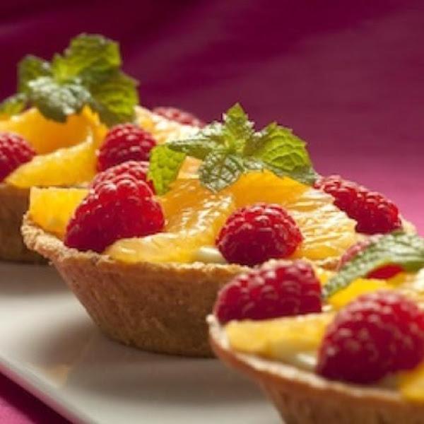 Orange Raspberry Cheesecake Tartlets, No Bake Recipe