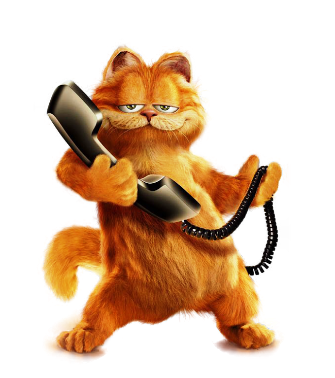 Garfield With Phone WTDS1XTO4mrCaFxZPIYc