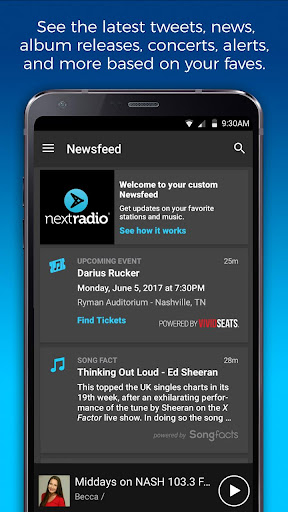 NextRadio Free Live FM Radio 5.0.2351-release screenshots 7