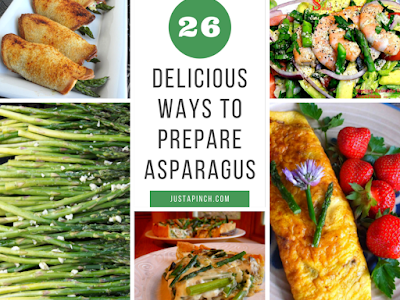 26 Delicious Ways to Prepare Asparagus