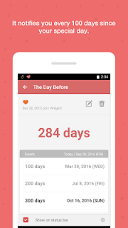 TheDayBefore (D-Day widget) screenshot 02
