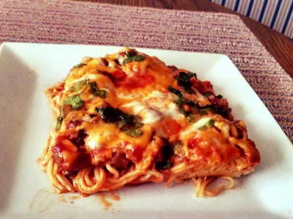 Southwestern Baked Spaghetti Recipe