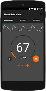 Heart Rate Meter Screenshot