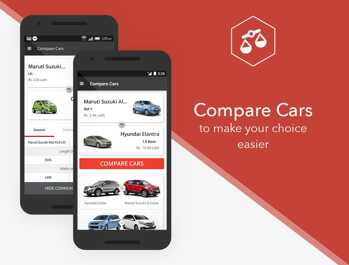 CarWale- Search New, Used Cars- screenshot