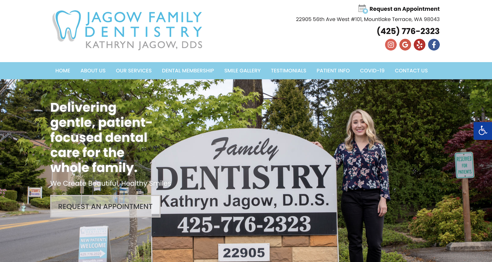 Personality to Your Dental Website