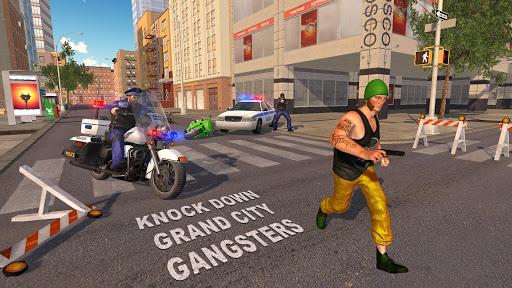 US Police Bike 2019 - Gangster Chase Apk 1