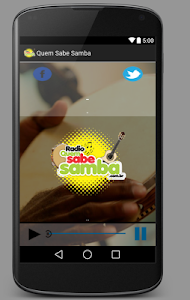 Radio Quem Sabe Samba screenshot 1
