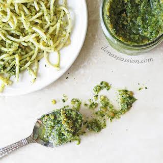 Basil Spinach Almond Pesto.