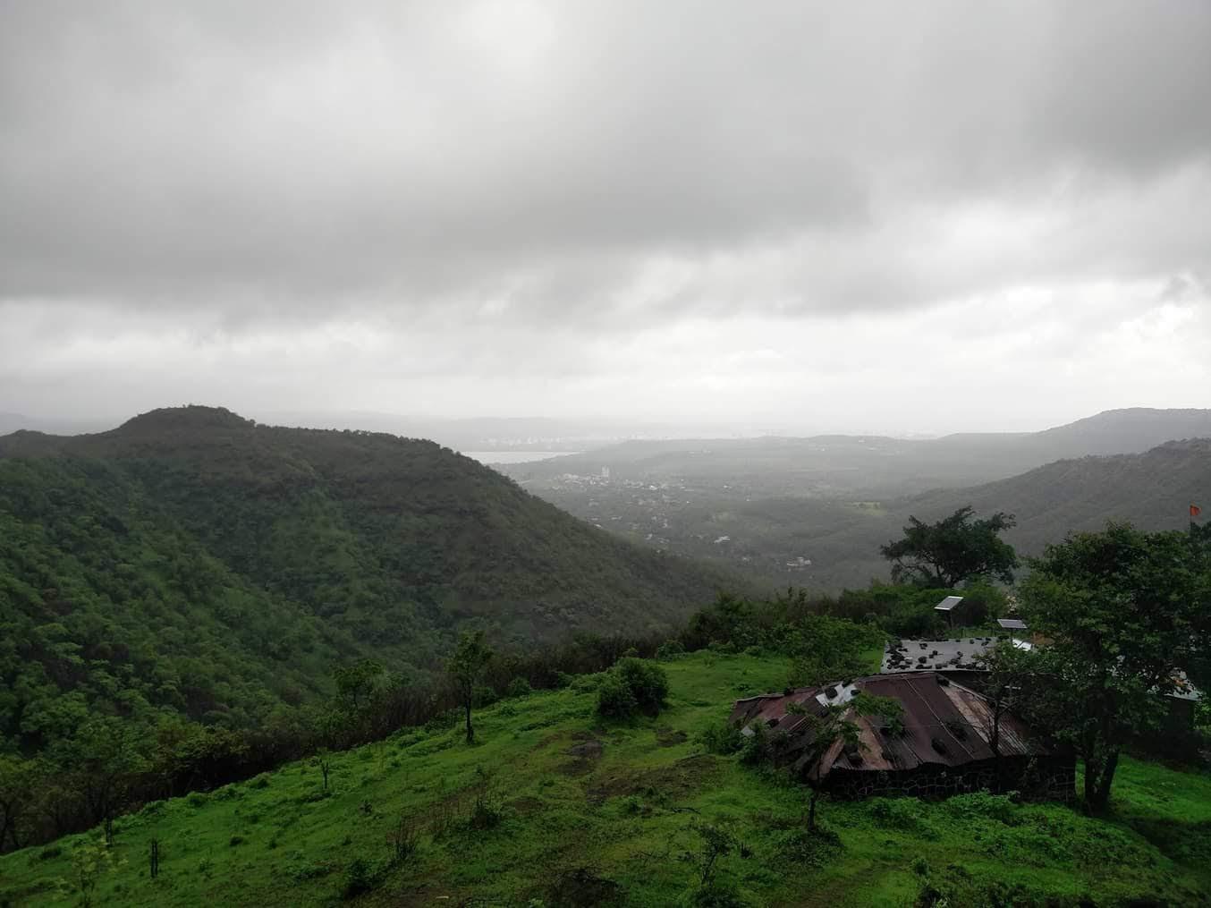 Singhgad Fort Pune during Monsoon