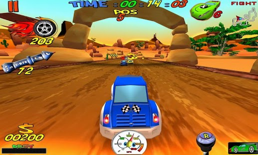 Cartoon Racing Free- screenshot thumbnail
