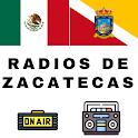 Radios de Zacatecas Emisoras Mexicanas icon
