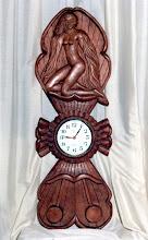 Photo: Altura: 115 cm. aprox. || Talla en madera. Woodcarving.   Puedes conocer más de este artista en el blog: http://tallaenmadera-woodcarving-esculturas.blogspot.com/