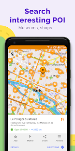 OsmAnd+ — Offline Travel Maps & Navigation Screenshot