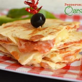 Pepperoni Pizza Quesadilla Recipe
