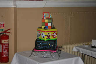 Photo: Now that is a cake with a difference! Well done Maureen.