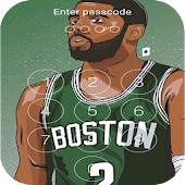 Keypad lock screen for Boston Celtics 2018/2019