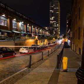 St. Lawrence by Ralph Sobanski - City,  Street & Park  Street Scenes ( urban, market, canada, toronto, long exposure, night, ontario, city )