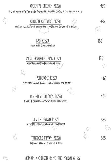 Open House menu 7