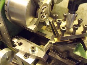 Photo: Usinage recto/verso des roues