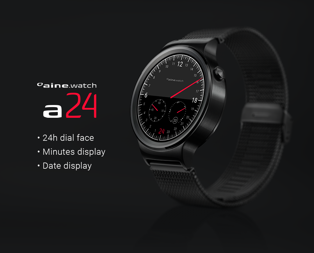 24h Design Watch Face- screenshot