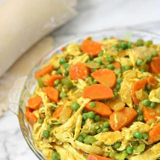 Chicken Curry Pot Pie.