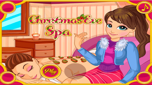 Beauty Spa Makeover Free christmas games