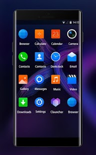 Theme for Infinix Zero 5 Abstract Wallpaper - náhled