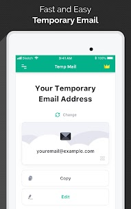 Temp Mail Temporary Disposable Email [No-Ads] 9