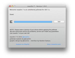 evasi0n jailbreak software