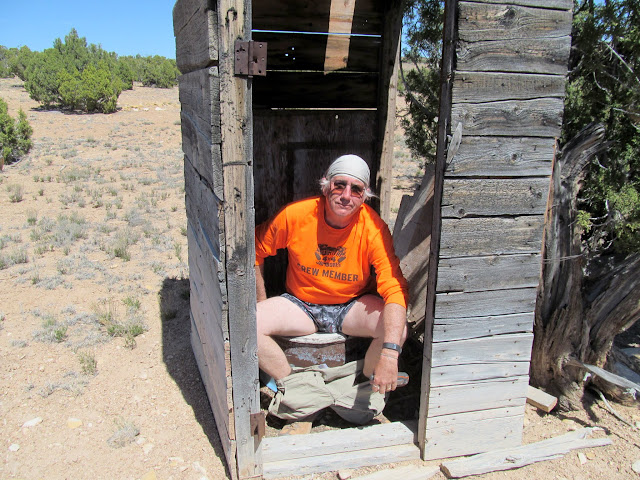 Outhouse at McKay Flat