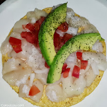 Photo: MEXICO city ♥ tostada de callo (yes, delicious raw fish! ;-)  #ttot http://CarouLLou.com/about #rtw