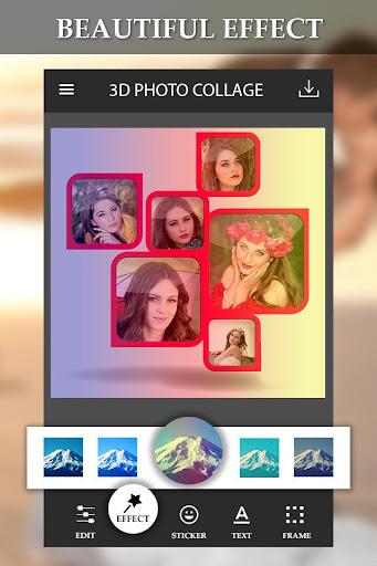 3d photo collage maker apk by top photo apps details. Black Bedroom Furniture Sets. Home Design Ideas