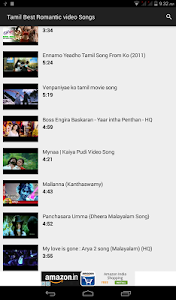 Tamil Romantic video Songs screenshot 1