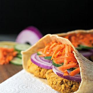 Smokey Falafel Burgers ~gluten Free, Vegan~