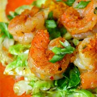 Spicy Orange Shrimp with Brussels Sprouts