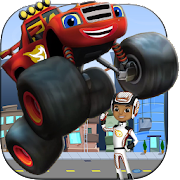Free Blaze Monster Machine 4x4 Racing Rush